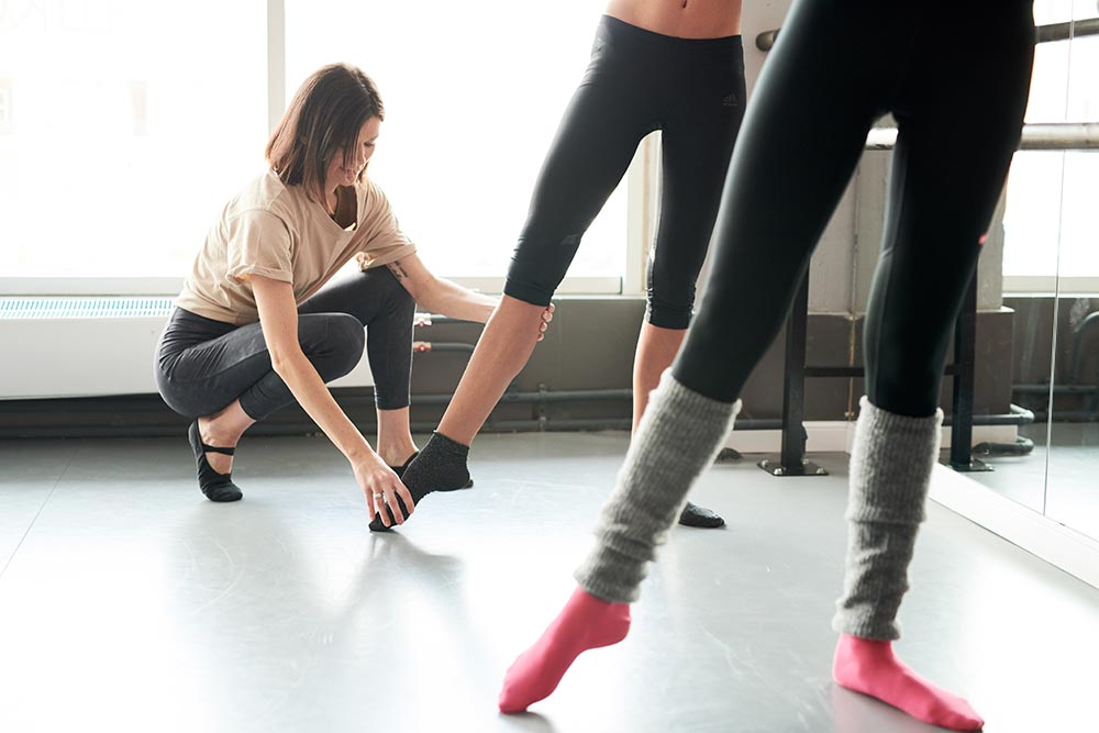 A physiotherapist at dance and Pre-Pointe Assessment, Dance Assessment in Townsville